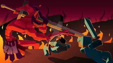 Minelers Trailer - Demon Battle