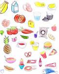 Food scribbles