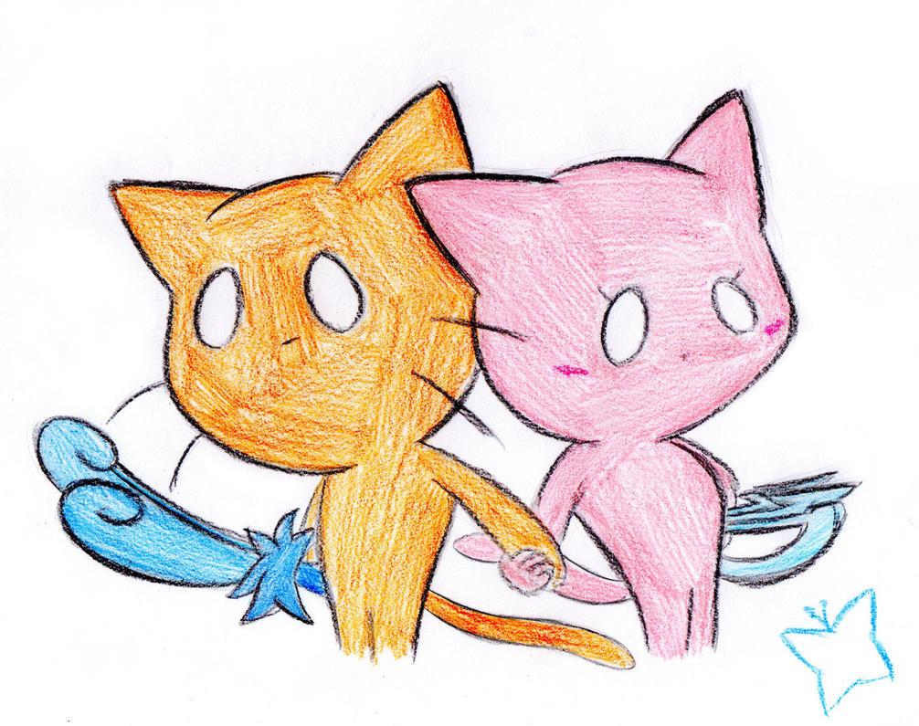 Giko and Shii by MintStarMari