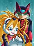 Zero and Ciel: Chikyuugi by MintStarMari