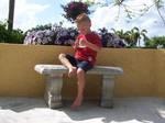 Boy on Bench 1