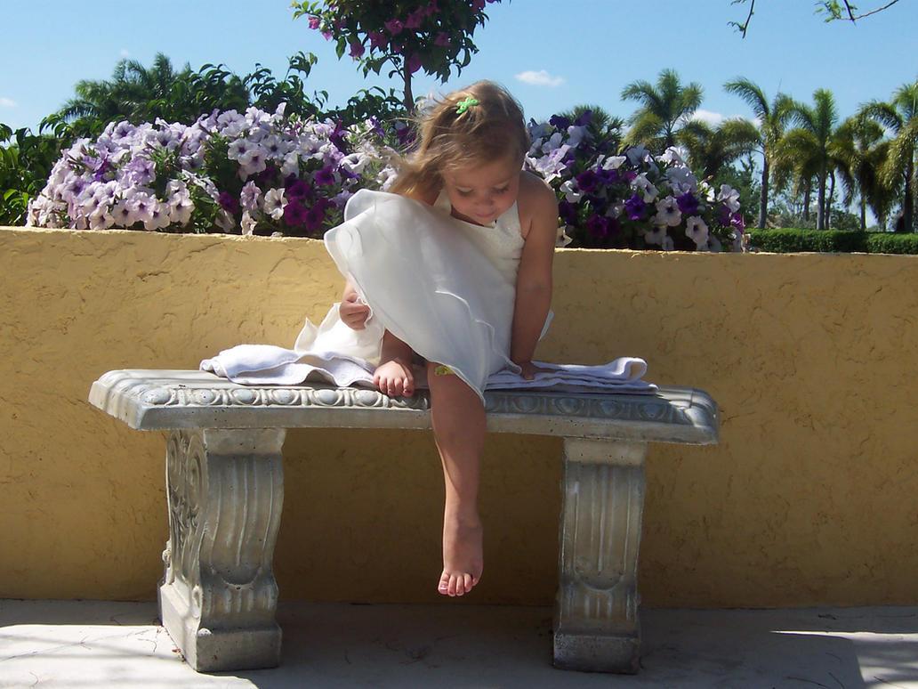 Girl in White Dress 10 by SBG-CrewStock
