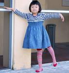 Striped Stockings 3