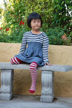 Striped Stockings 7