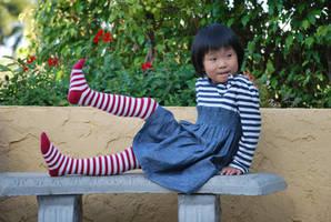 Striped Stockings 10
