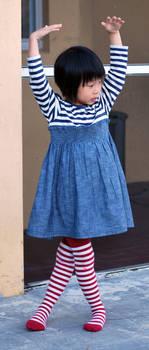 Striped Stockings 12