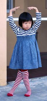 Striped Stockings 13