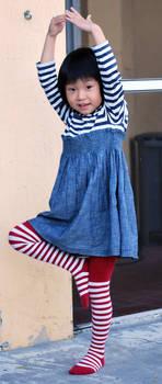 Striped Stockings 14