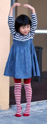 Striped Stockings 15