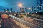 Melbourne on Blue Hour