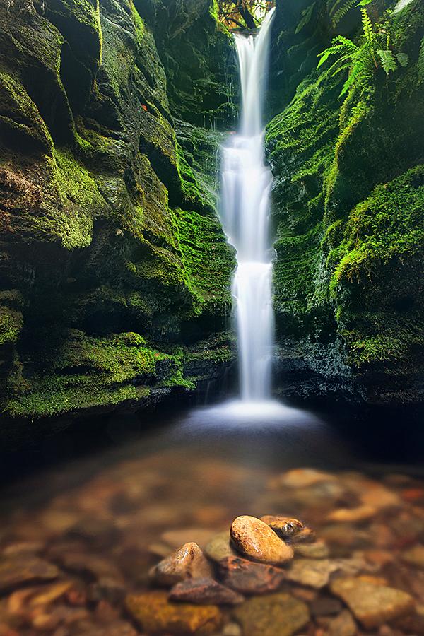 Secret Falls by alexwise