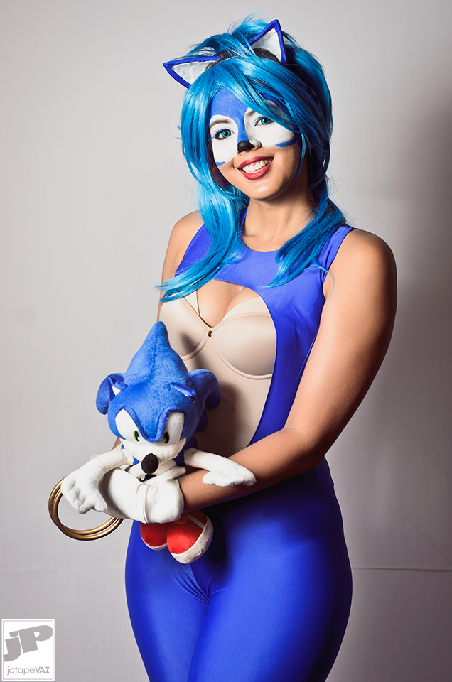 Sonic Cosplay Female Bel Chan (4) by BelChanCosplay ...  sc 1 st  DeviantArt : sonic cosplay costume  - Germanpascual.Com
