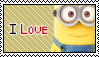 I love Minions Stamp by Thoxiic-Editions
