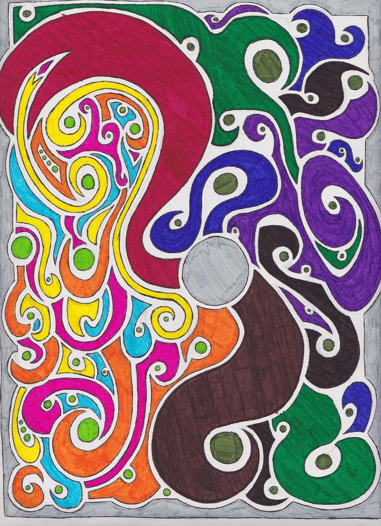 The Mind of an Artist by Heontris
