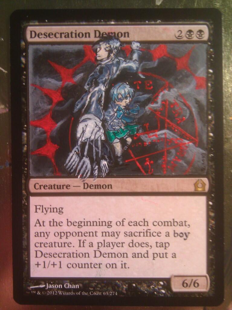 desecration demon wallpaper - photo #5