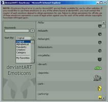 Emoticon Legend v2