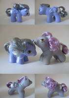 Newborn Twins Aurabelle and Evelyn by CustomsbyPandabear