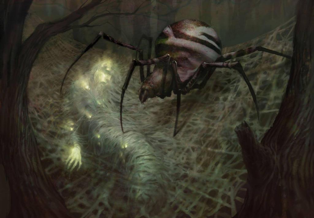 Nightmare-Fuel spider Horror by venomEvilTO111 on DeviantArt  Nightmare