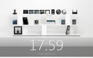 Black and White Shelf