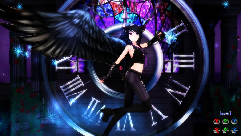 Fallen angel by RavenKiryu