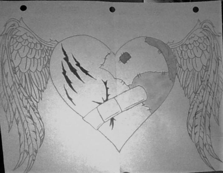 Broken Heart by RavenKiryu