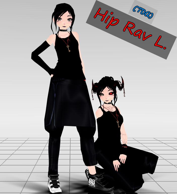 (Tda)HipRav by RavenKiryu