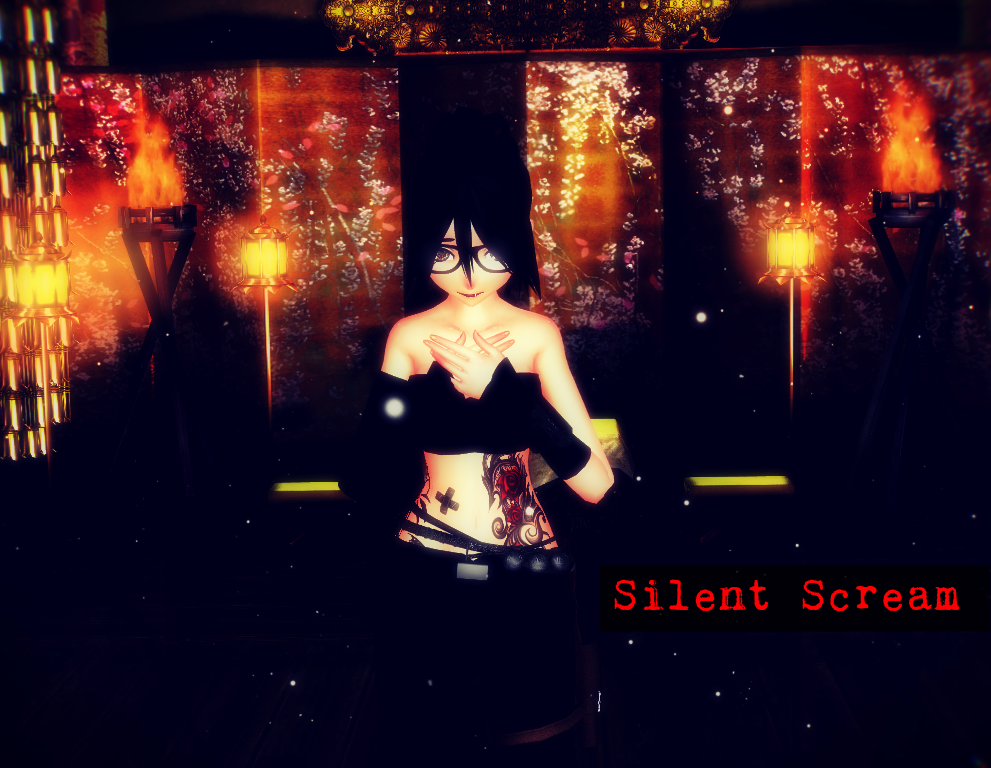 Silent Scream by RavenKiryu