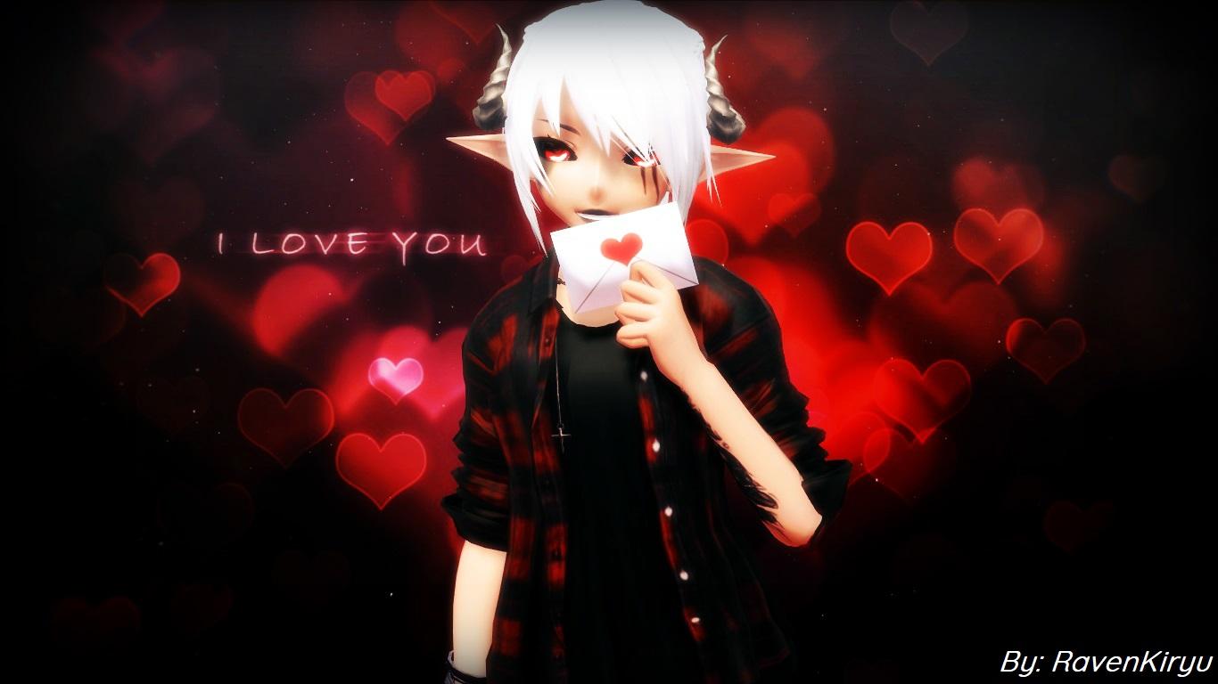 (MMD) I Love You by RavenKiryu