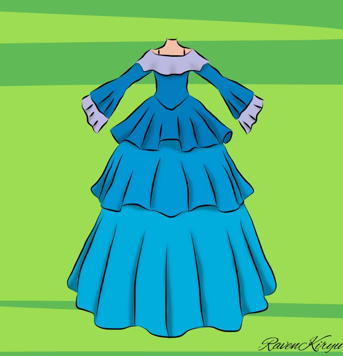 Dress-1 by RavenKiryu