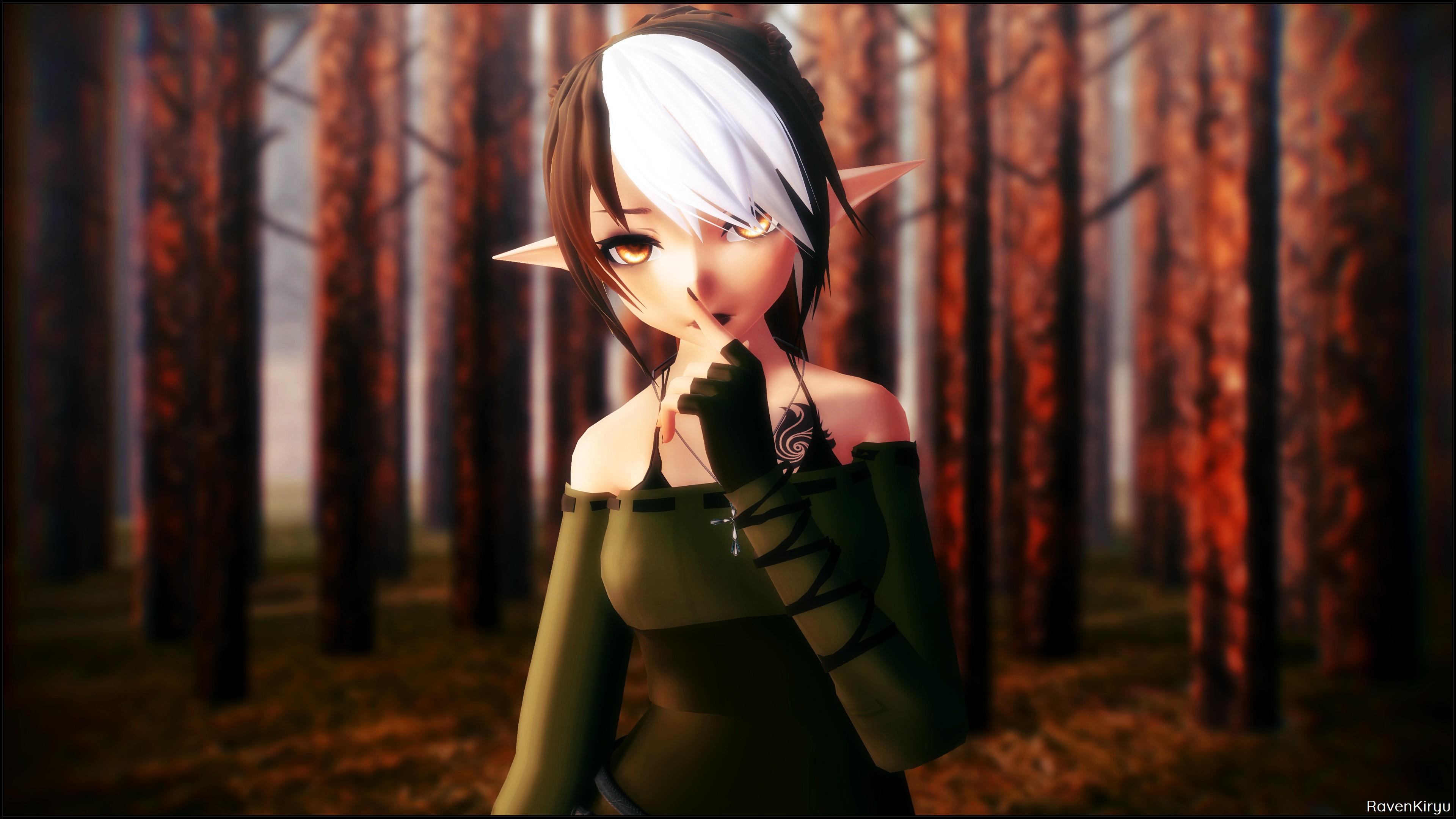 Shhh by RavenKiryu
