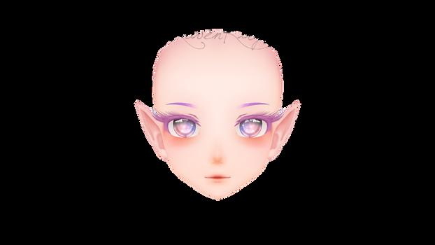 (MMD) Head Edit. #1