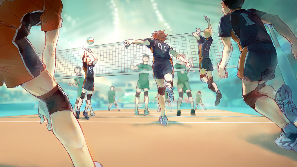Haikyuu by Marty-basto