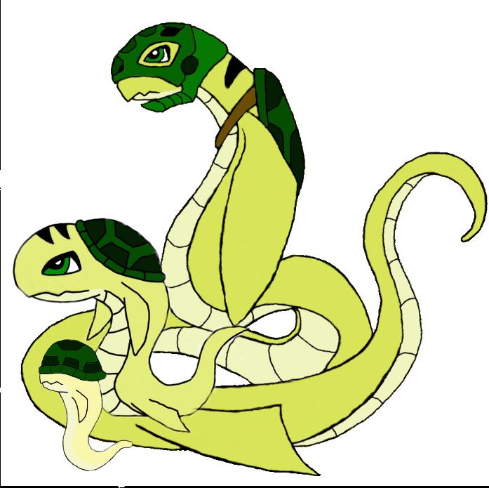 Digimon Line, Mosamon by lordturtlemonk