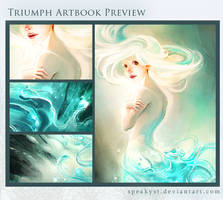 Triumph Artbook Preview by speakyst
