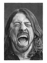 Dave Grohl by PacoMolinari