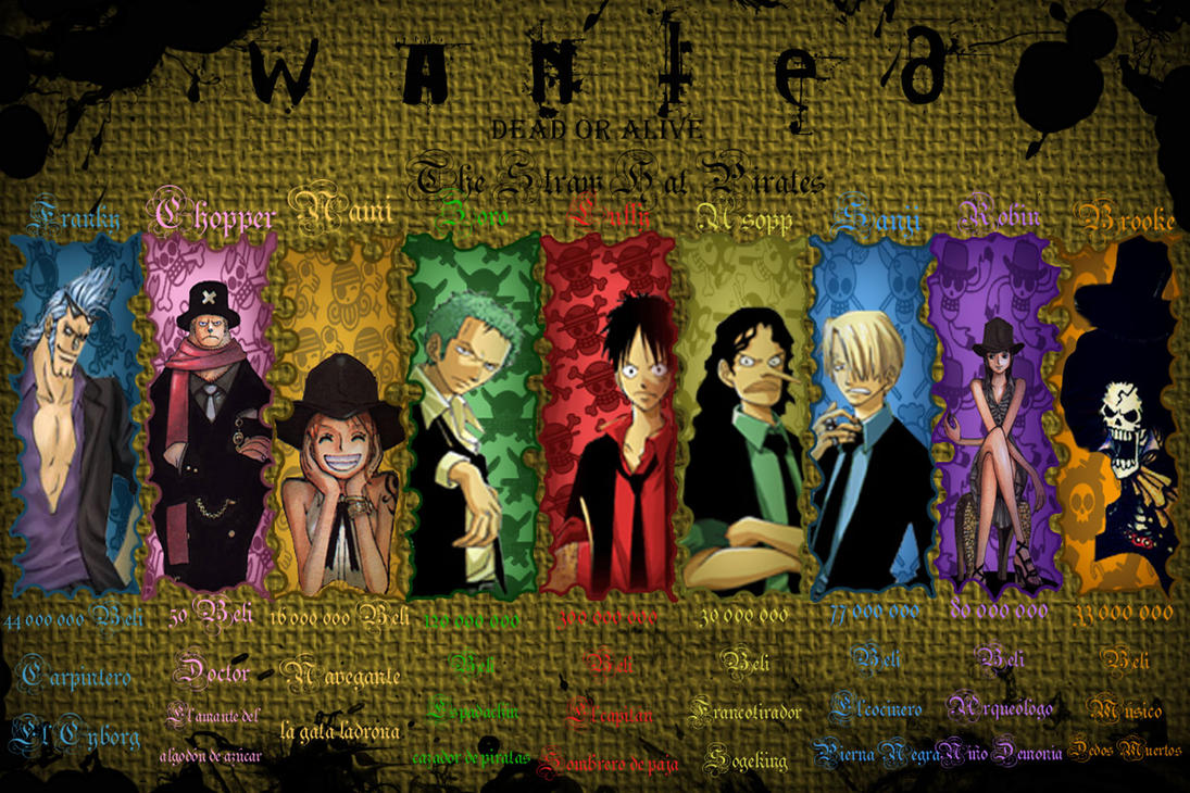 One Piece, Le Phénomène Japonais ! One_piece_wanted_by_Shetska