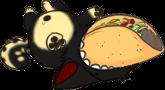 Cute Taco Pose by Spottoxic