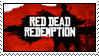 Red Dead Redemption Stamp by Engorn