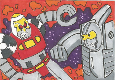 Gobots PSC by kylemulsow