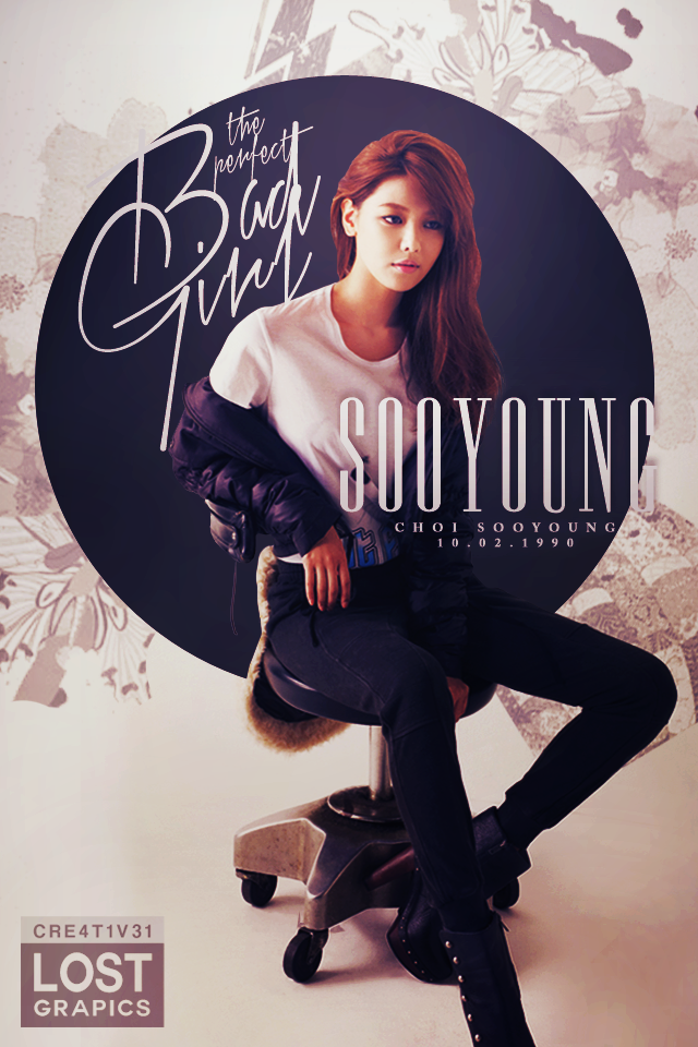 sooyoung bad girl 02 iphone wallpaper 27 by