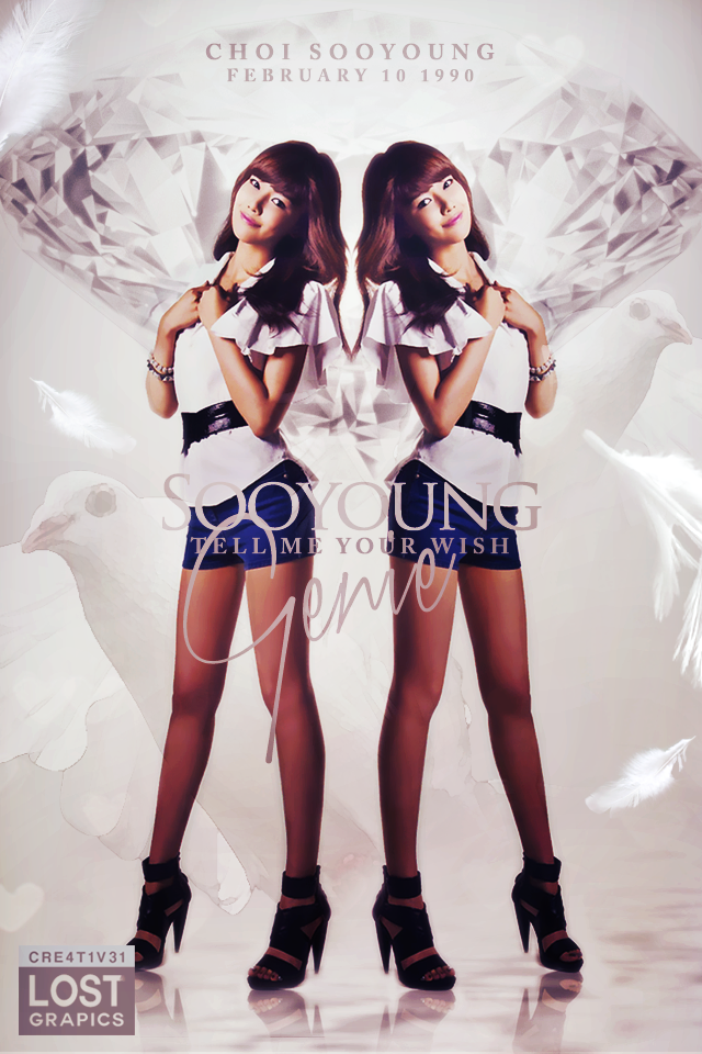 sooyoung tell me your wish iphone wallpaper 57 by