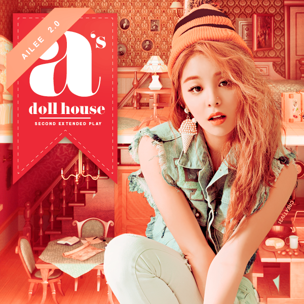 Ailee as doll house album cover foto bugil bokep 2017 for House music cover