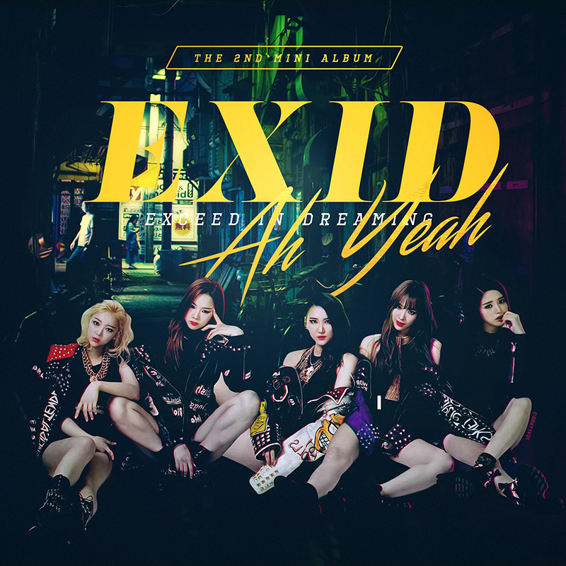 EXID - Ah Yeah (Fan Made Album) by Cre4t1v31