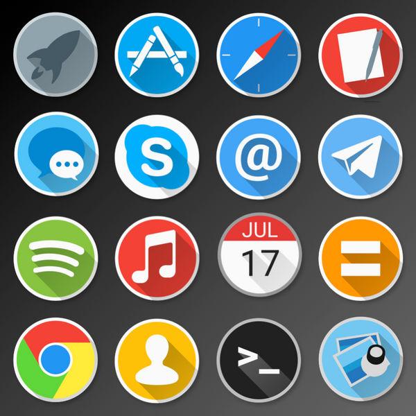 [WIP] Enkel Icon Pack for Mac