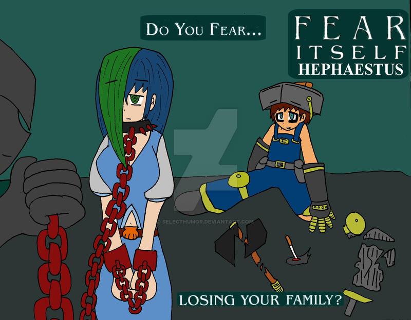 Fear Itself Hephaestus by Selecthumor