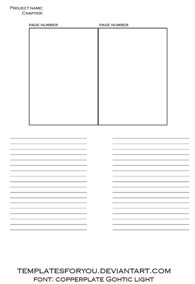 comic layout template single by templatesforyou on deviantart. Black Bedroom Furniture Sets. Home Design Ideas