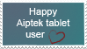 Happy Aiptek stamp by TemplatesForYou
