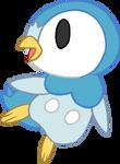 ~PokeBase~ Piplup Swimming