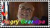Angry Grandpa Stamp by Kiken-Okami