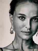 Natalie Portman Portrait by CuriousGeorge43545